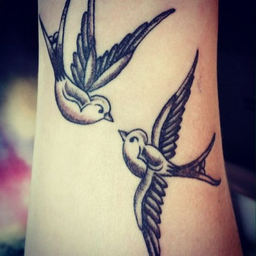 Swallow Tattoo Designs for Women