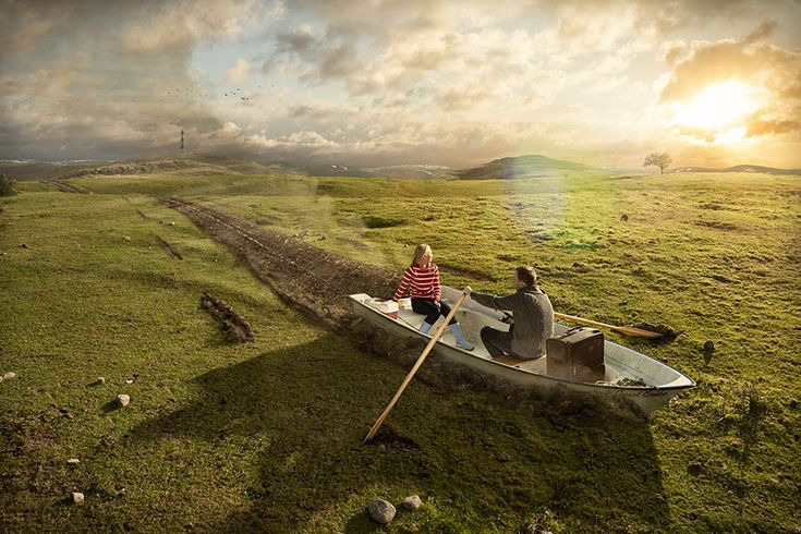 Mind-Bending Photo-Manipulations by Erik Johansson - Imgur