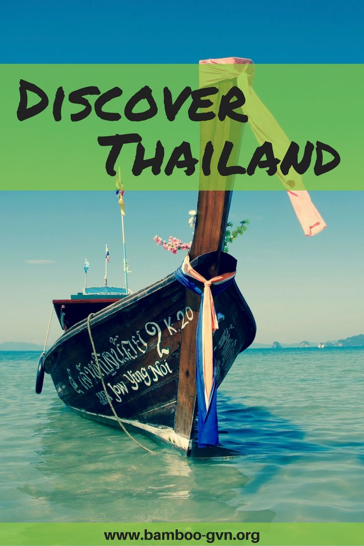 Discover Thailand // Do You Bamboo - BamFam - Travel - Adventure - Volunteer - Give Back - Responsible Travel - Sustainable - Travel the World - Asia - South East Asia