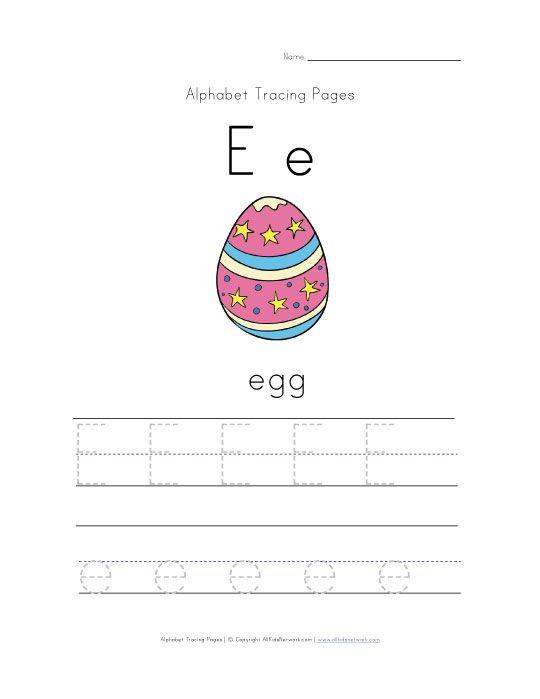 Rechenkas eggs writing activity sheets
