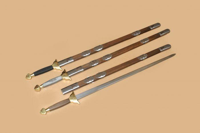 Espadas de Tai-Chi prácticas - ARTESANÍA TRINIDAD C.B.