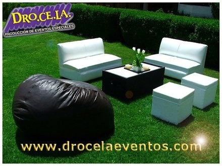 Renta De Mobiliario, Salas Lounge Para Tu evento!!! - Coyoacán