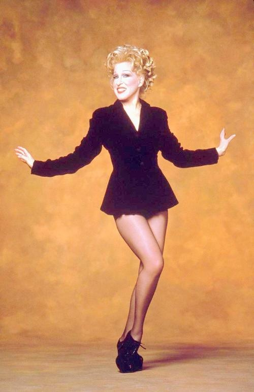 Bette Midler... I love her... when I was young I wanted to adopt her haha!