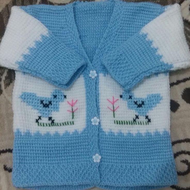 """214 Beğenme, 2 Yorum - Instagram'da @elisi.bohcasi: """"Bebek yelek hırka takımı sipariş alınır. Istenilen renkte örülür. #elişi #elemeği #bebek #baby…"""""""