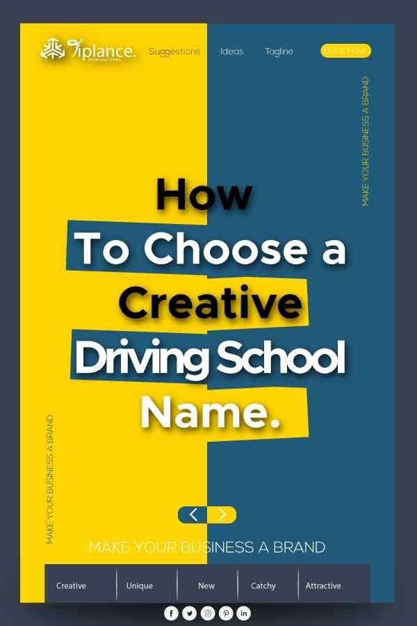113 Creative Driving School Name Ideas And Suggestion In 2020