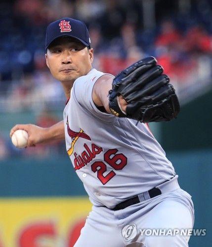 [MLB] Cardinals' Oh Seung-hwan tosses 1st scoreless outing of season