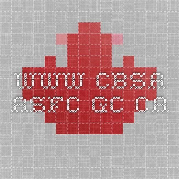 CBSA NDR Codes