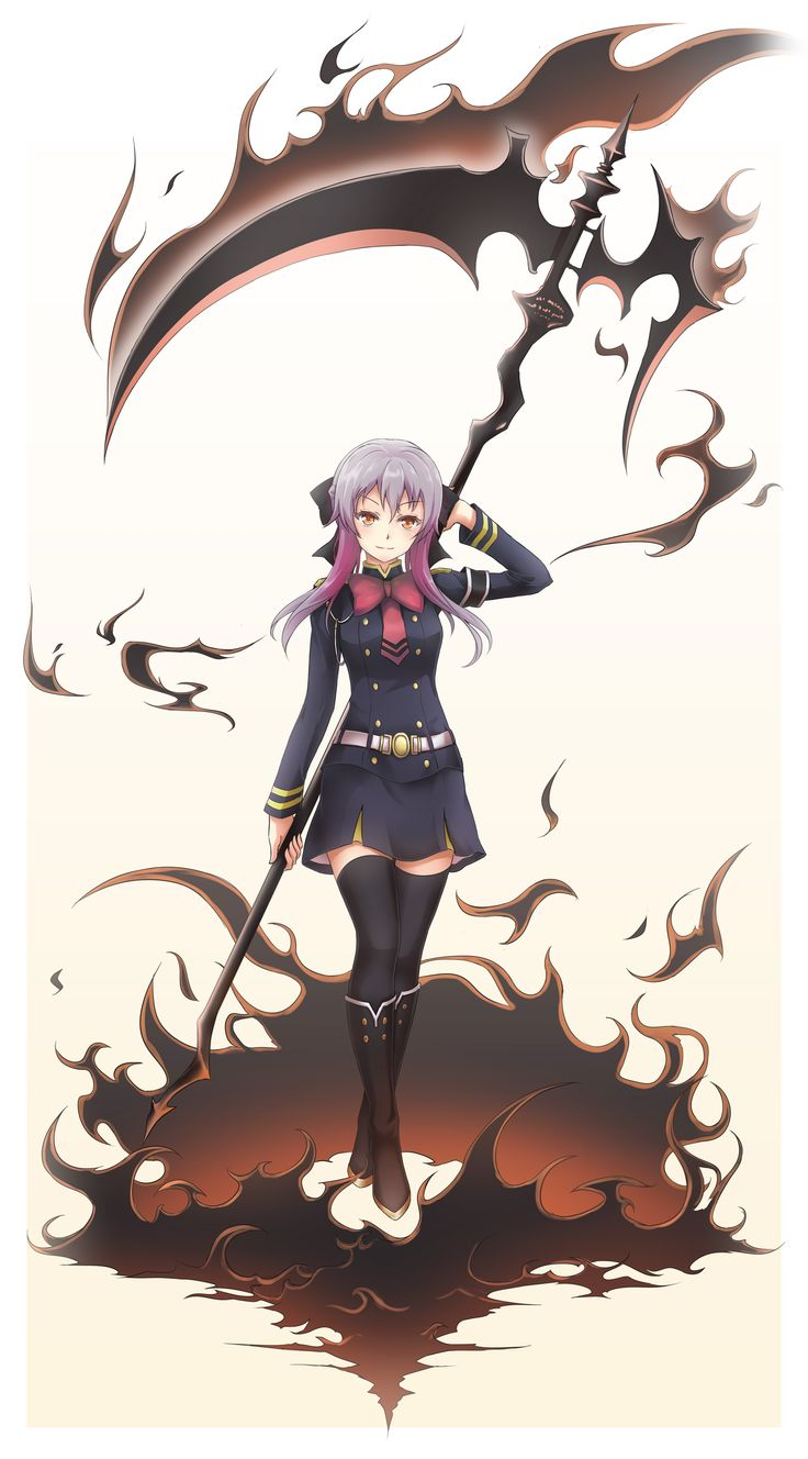 Hiiragi Shinoa | owari no seraph (Seraph of the End)