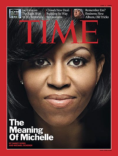 TIME MAGAZINE: The Meaning of Michelle (June 2009)