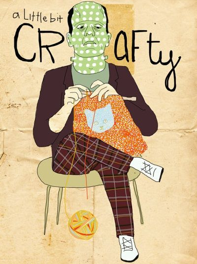 Knitting Humor Posters : Best knitting illustrations drawings posters