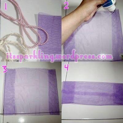 iam Fillah MS: Cara membuat bros dari kain tile