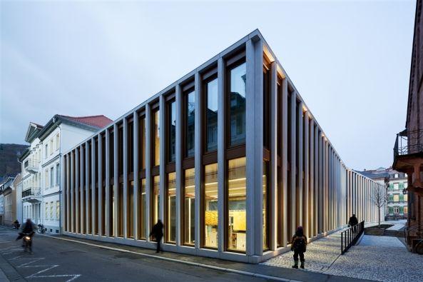Neubau und Sanierung Theater Heidelberg von Waechter + Waechter Architekten, Darmstadt