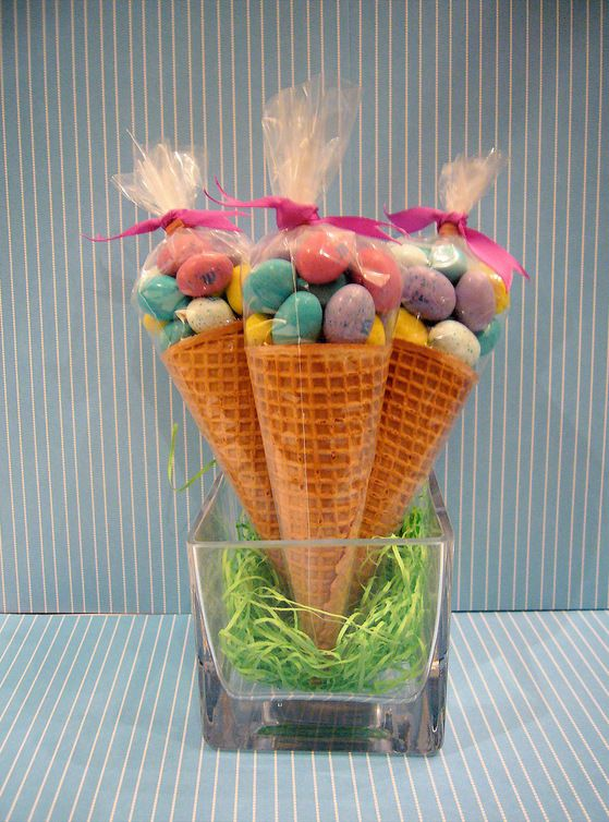 You could do this with a variety of candies! So cute!