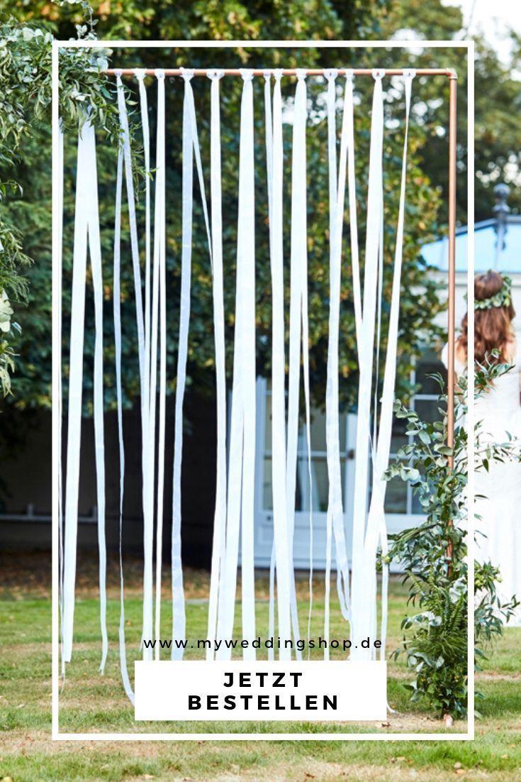 Backdrop Fur Die Freie Trauung Band Hochzeit Hochzeitskulissen Trauung