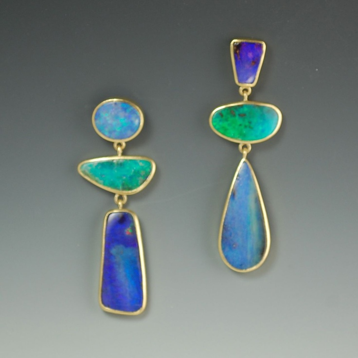 1068 best Jewelry Modern Opals and Moonstones images on Pinterest