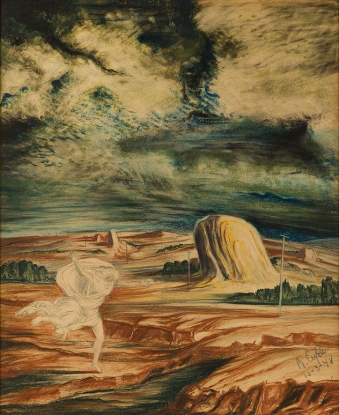 Bolesław Cybis - Biegnąca kobieta, 1948 r.