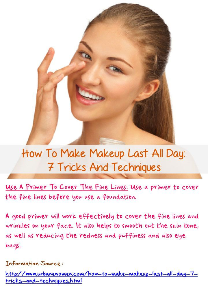 ... Stay All Day. How To Make Your Makeup Last Without Primer Mugeek Vidalondon