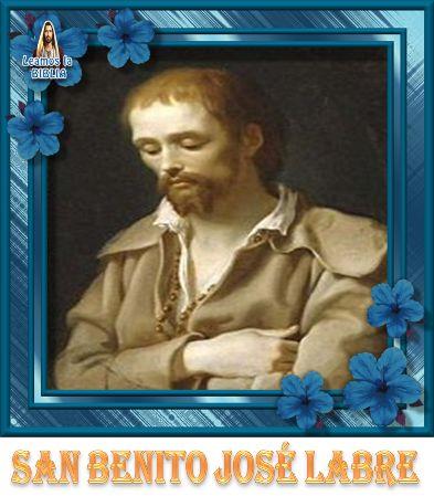 Leamos la BIBLIA: San Benito José Labre