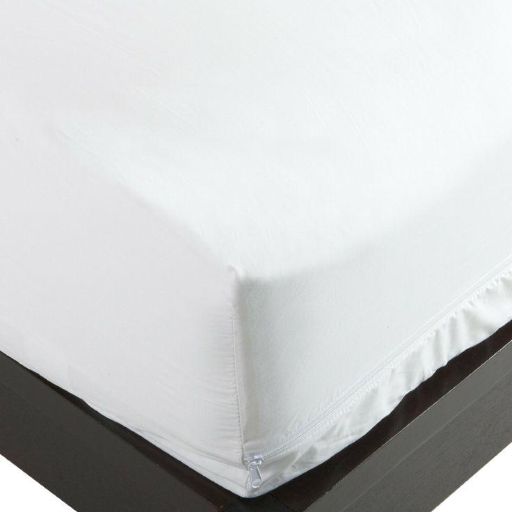 100percent cotton mattress protector dust mite control mattress cover