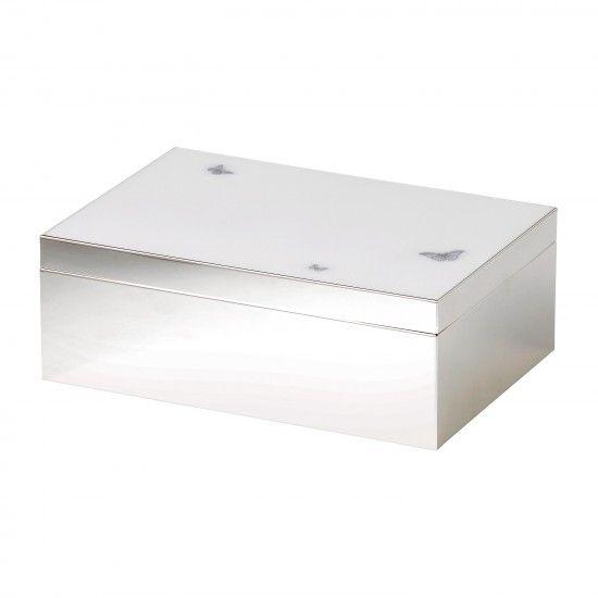 Miranda Kerr 9x7 White Jewelry Box