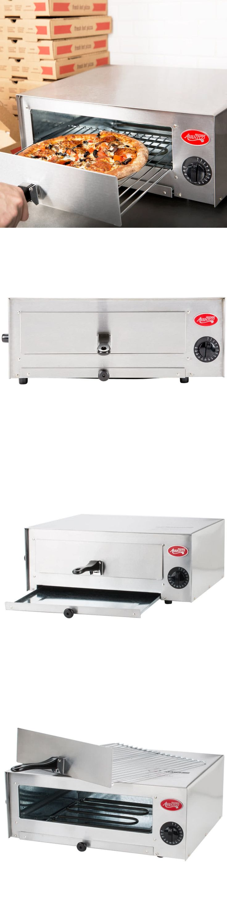 Toaster Ovens 122930: Concession Stand Countertop Pizza Snack Oven Stainless Steel Commercial 120V -> BUY IT NOW ONLY: $66.97 on eBay!