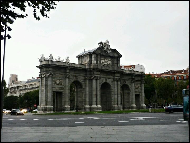 Madrid Spain Alcalá