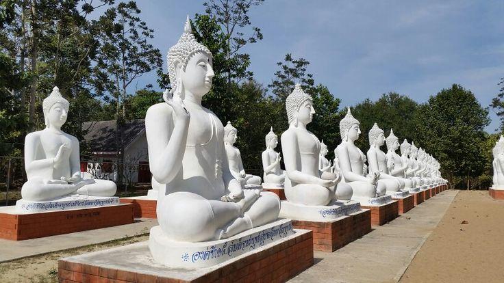 So many beautiful buddhas, Phitsanulok Thailand