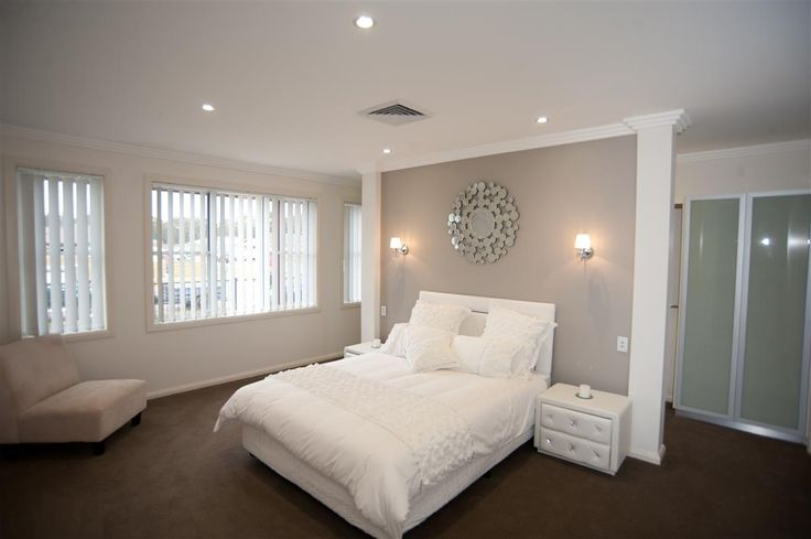 Are you looking for master bedroom design ideas? Beautiful, liveable & luxurious. The Mareeba is on display at Mittagong, Southern Highlands #GJNSW www.GJGardner.com.au