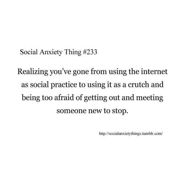 Social Anxiety Thing #233