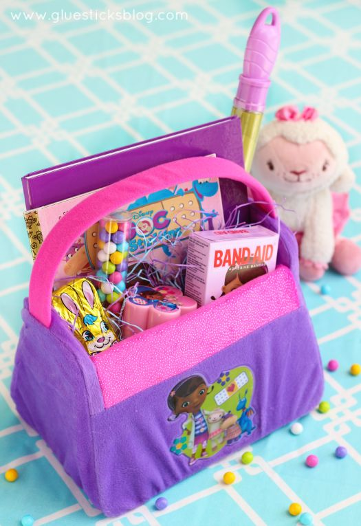 219 best easter baskets images on pinterest easter baskets doc mcstuffins inspired easter basket negle Image collections