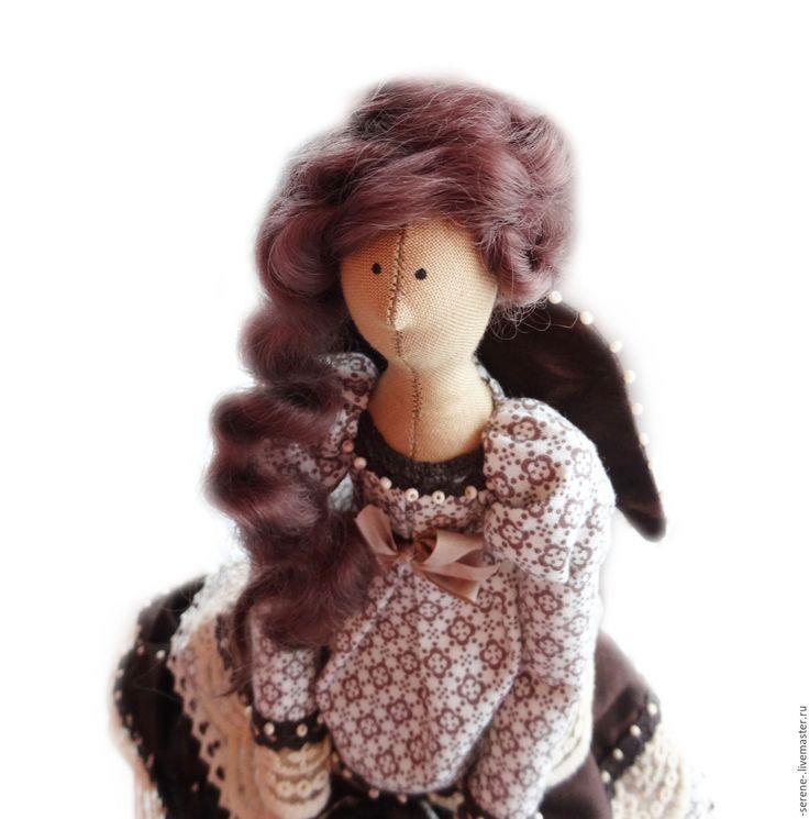 Купить Кофейная фея в стиле Тильда - кофейная тильда, кофейная фея, кофейная кукла