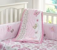 Baby Girl Crib Bedding & Nursery Crib Bedding | Pottery Barn Kids