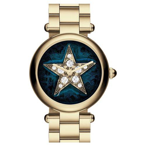 マークジェイコブス 時計 ドッティー MJ3478 ブルー×ゴールド クリスタルスタッズ×スター - マークジェイコブス|Marc Jacobs 時計通販店舗【ワールドマークショップ】