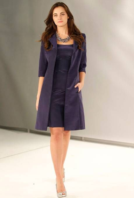 Style 1127 Collection 20 by Watters Mother of the Bride Dress Fall 2012 - Knee-Length Silk A-Line Dress with Jacket