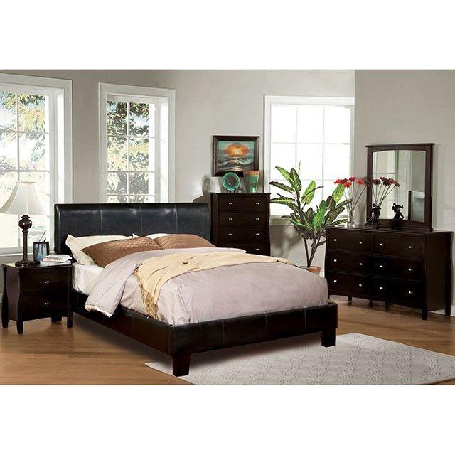 Furniture Of America Villa Park 4Pcs Eastern King Bedroom Set CM7007 For $817