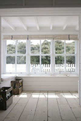 Lovely large window, wide plank floors, exposed and painted ceiling. Perfect.