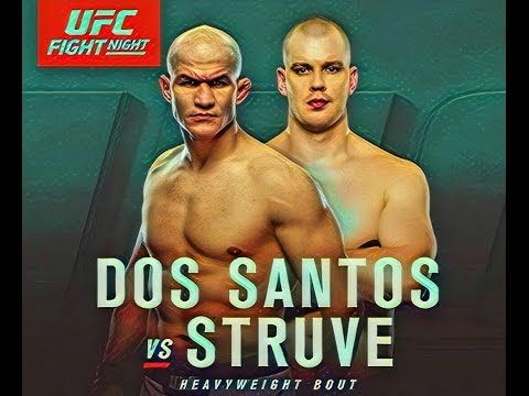 MMA Junior Dos Santos vs Stefan Struve at UFC Halifax