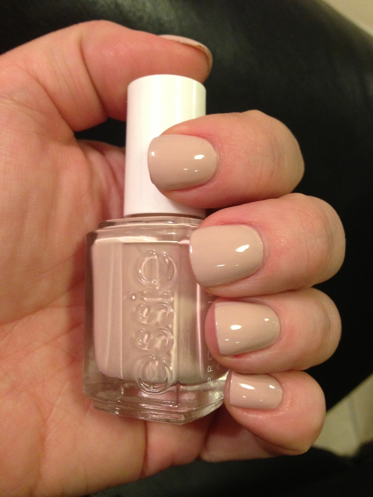 Love this Essie nude polish... 'Topless & Barefoot'