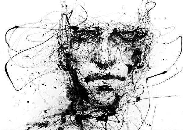 Watercolor Paintings by Agnes Cecile: Agnescecil Awesome, Agnescecile01 Jpg 721 512, Agnescecil 58 00