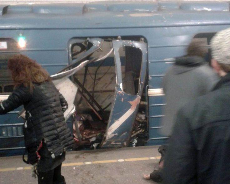 Vintage Image The explosion tore through a subway car at about p m local