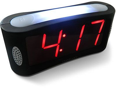 Travelwey LED Digital Alarm Clock, Loud Alarm and snooze