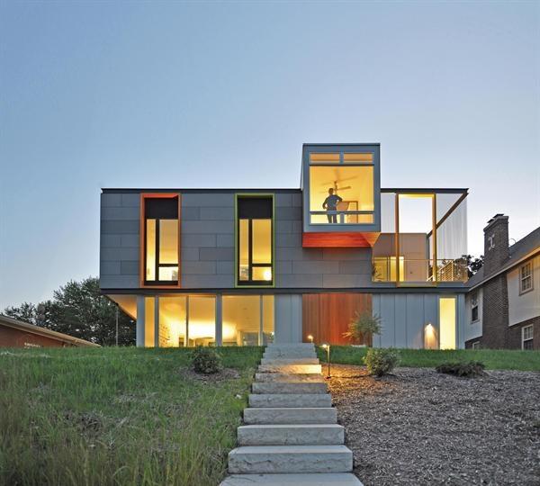 OS House, Racine, Wisconsin, Johnsen Schmaling Architects, Milwaukee