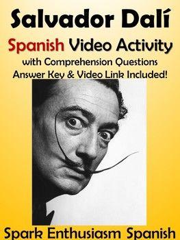 Salvador Dali Spanish Video Activity - Biography