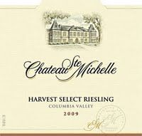 31- Cepa: Riesling - Chateau Ste. Michelle Harvest Select - Columbia Valley/USA - 2009