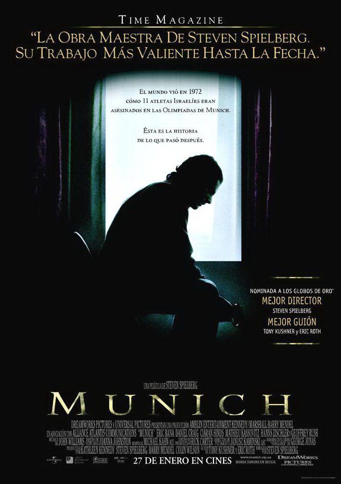 Munich Carteles De Cine Portadas De Peliculas Peliculas Que Debes Ver