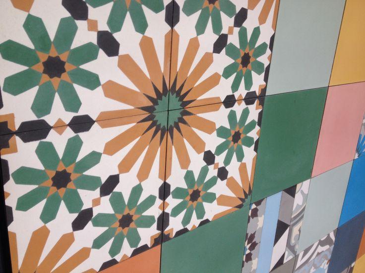 Cement Encaustic Tiles - Add some colour