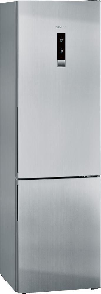 Elegante frigorífico combi Siemens KG39NXI33 con tecnoloía No Frost Inox y display exterior