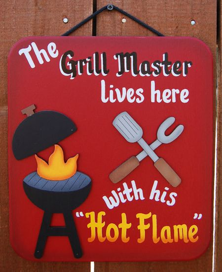 Grill Master - Backyard Decoration