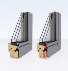 Ihr Unilux- Fachhändler, Holz-Alu Fenster in verschiedenen Aluprofilierungen