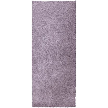Lanart Modern Shag Durable and Soft Area Rug, Purple
